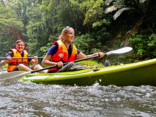 Kayaking in the Jungles of Malaysian Borneo
