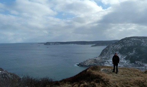 Lee in Newfoundland, Canada on a Working Holiday Visa