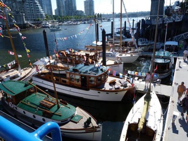 Boats at Granville Island, Vancouver, Canada