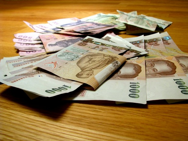 Thai Baht notes