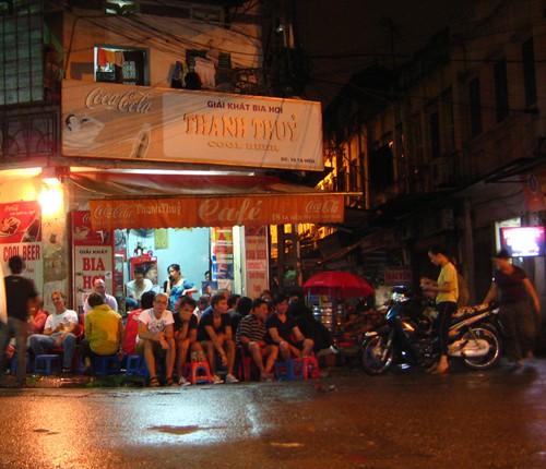 Drinking in Vietnam - photo by Alex Schwab