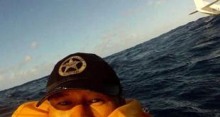 plane crash selfie
