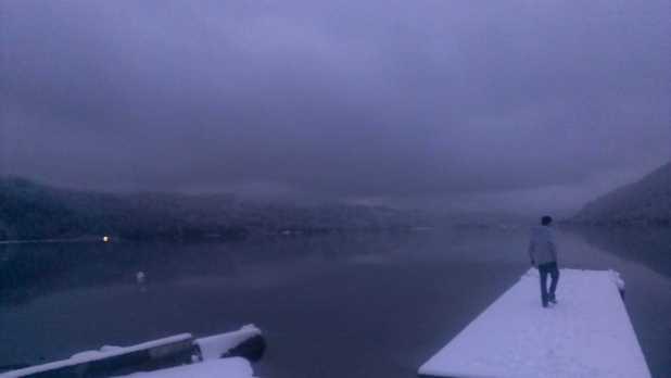 Cultus Lake in the Winter