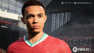 FIFA 21 next gen PS5 Xbox Series X S screenshot Alexander Arnold