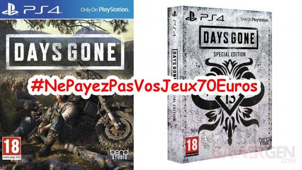 Do notPushYour Games70Euros Days Gone