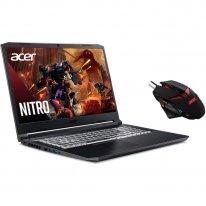 портативный компьютер геймер acer nitro an517 52 505s 17