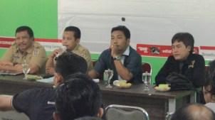 GN/Chusnul Huda Kepala Dinas Kominfo, Kabag Humas dan Protokol Tuban, bersama Ketua RPS & PWI Tuban