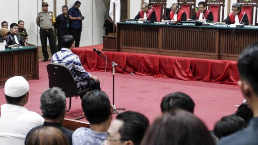 Sidang Ahok vonis