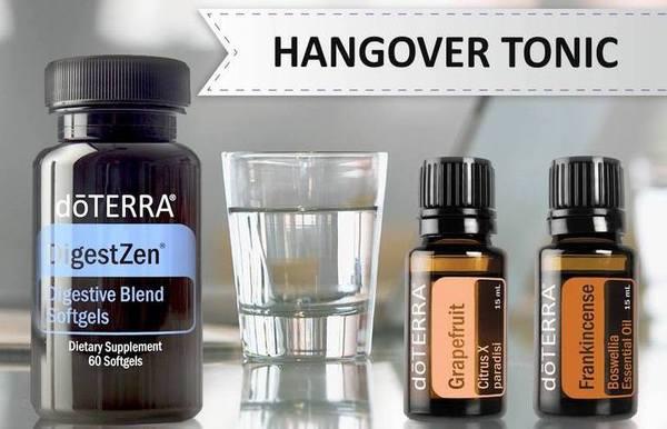 Doterra oils for hangover