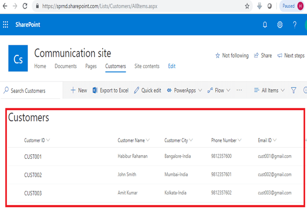 Create And Format HTML Table Using Microsoft Flow And SharePoint Online