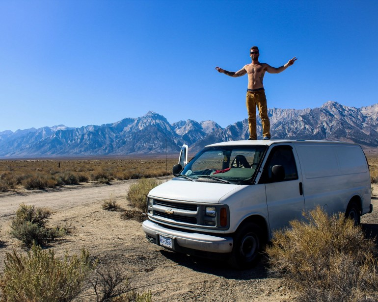 van conversion how to guide lone pine california