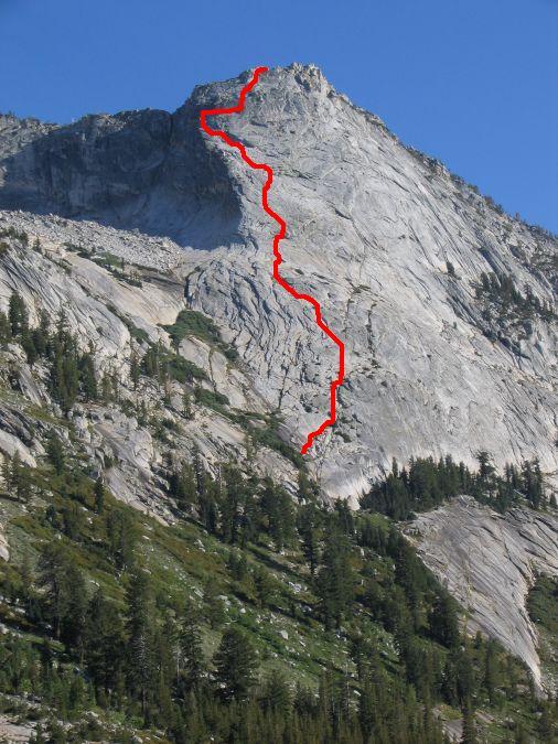 route up mount tenaya