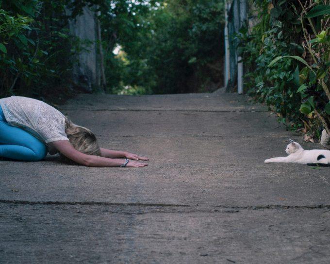yoga during lockdown