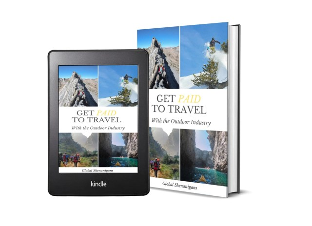get paid to travel with the outdoor industry