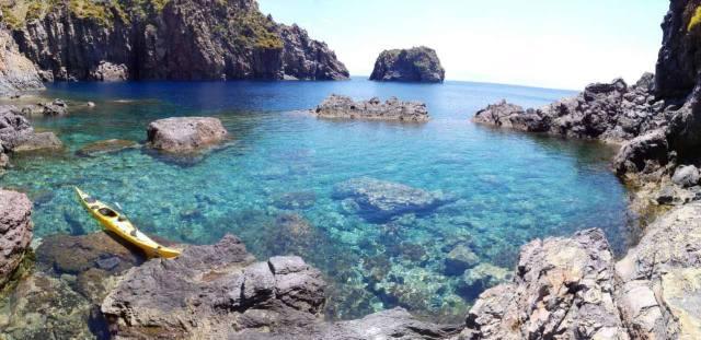 sea kayak expedition aeolian islands sicily