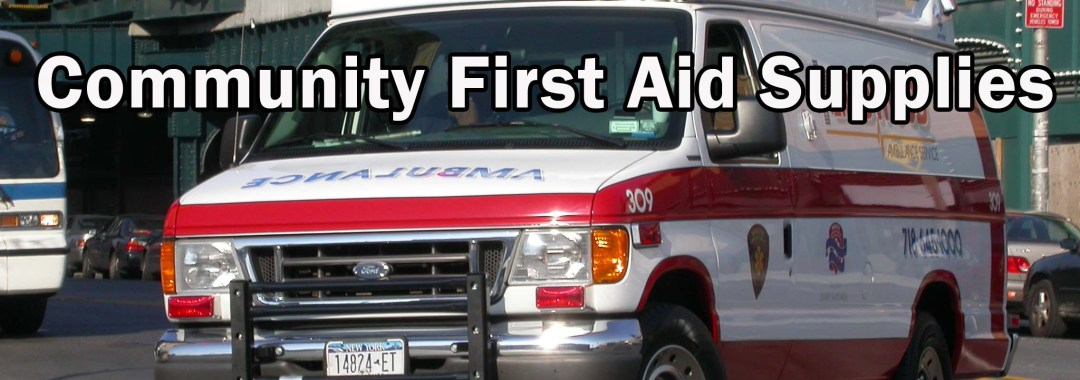 Community First Aid Supplies - Ambulance