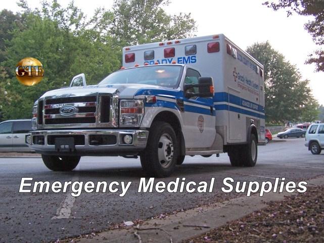 Emergency Community First Aid Supplies - Ambulance