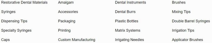 Bulk Dental Supplies - GTE