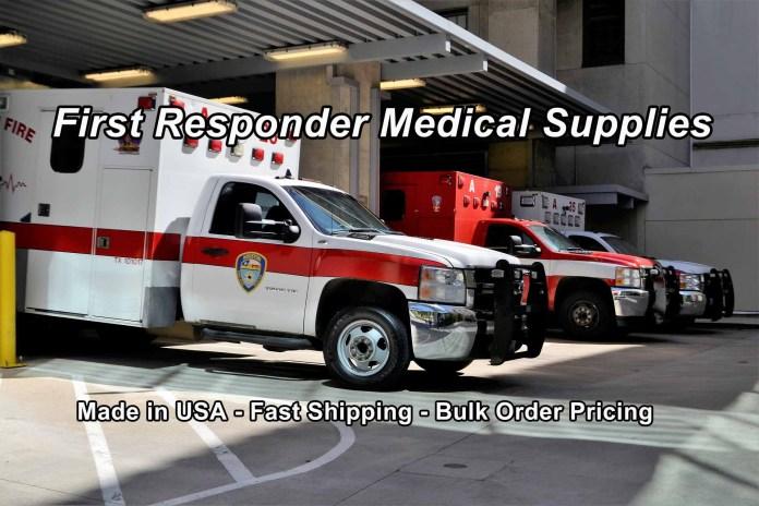 First Responder Medical Supplies at GTE