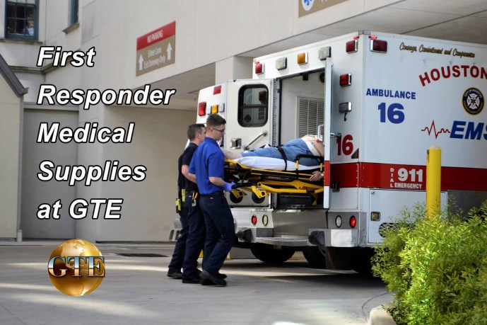 First Responder Medical Supplies