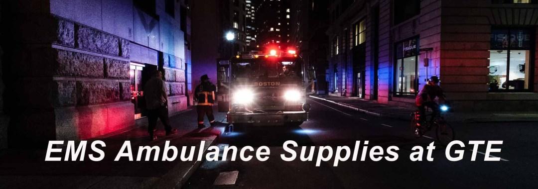 Ambulance Supplies at GTE