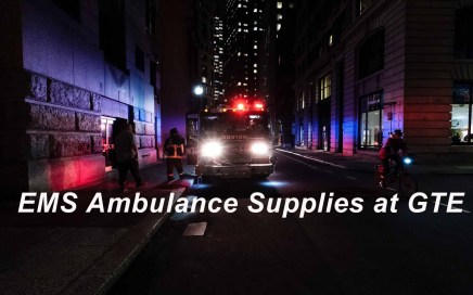 Ambulance Supplies at GTE