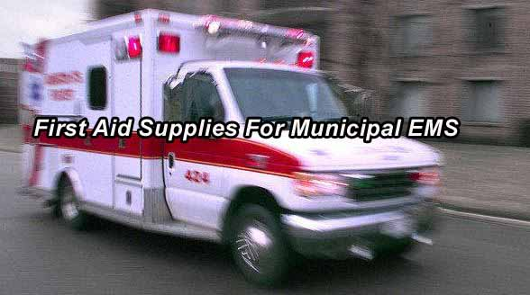EMS Supplies - Wisconsin First Aid Supplies For Municipal EMS