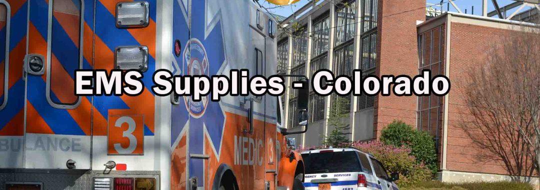 EMS Supplies - Colorado