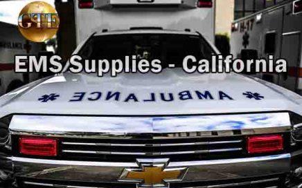 EMS Supplies - California