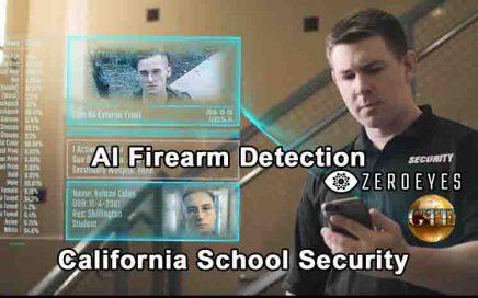 AI Firearm Detection - California School Security