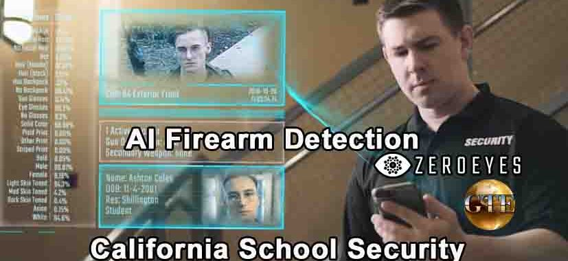 AI Firearm Detection - California School Security