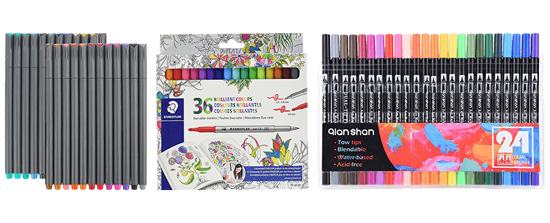 Popular Easy Coloring Markers For Adults - Find Gallery