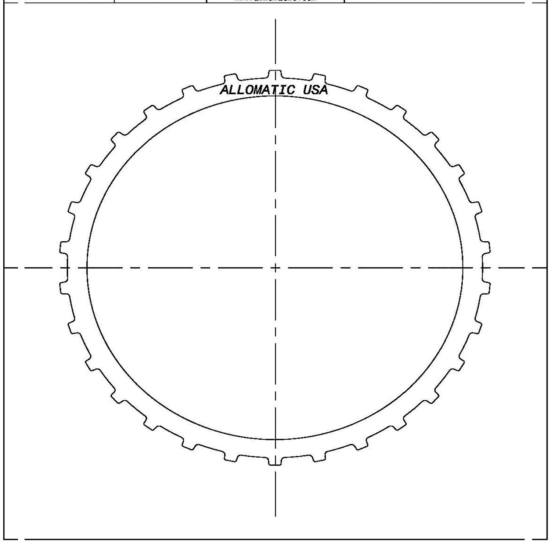 Re4f02a Re4f02v Rl4f02a Rn4f02a Steel Clutch Plate