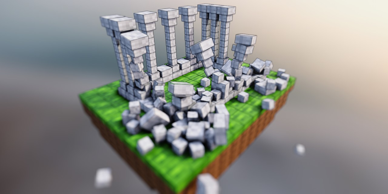 CGFasttrack – Blender Fast Track Vol 1 Minecraft Remastered 2.90