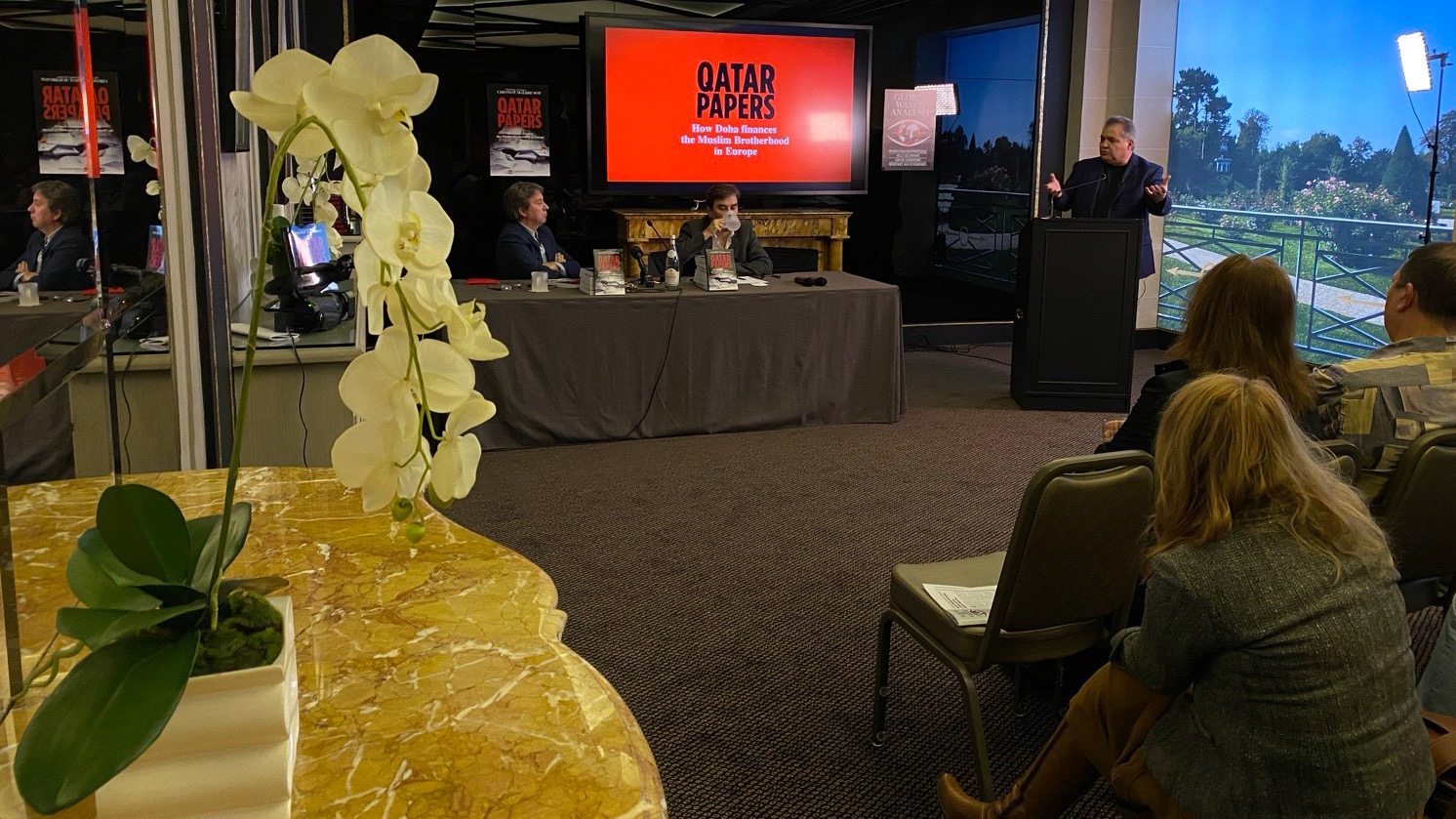 "Global Watch Analysis celebrates the publication of the English edition of ""Qatar Papers""."