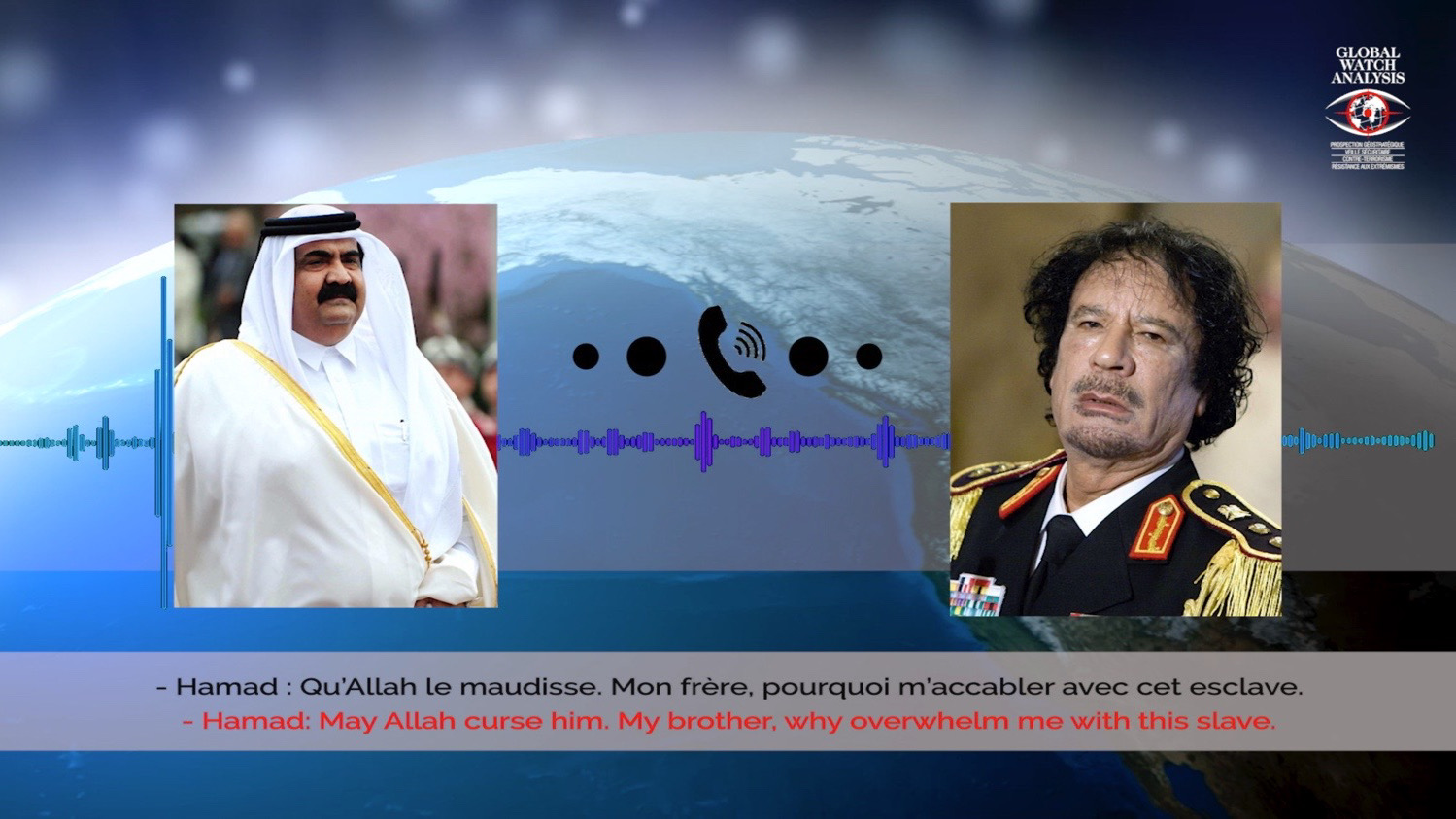 When the Prince of Qatar called Obama a slave and recognized the Muslim Brotherhood's stranglehold on al-Jazeera!