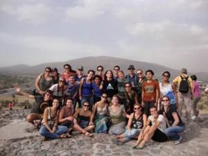 My IHP group at Teotihuacan