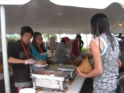 Makah Day food service