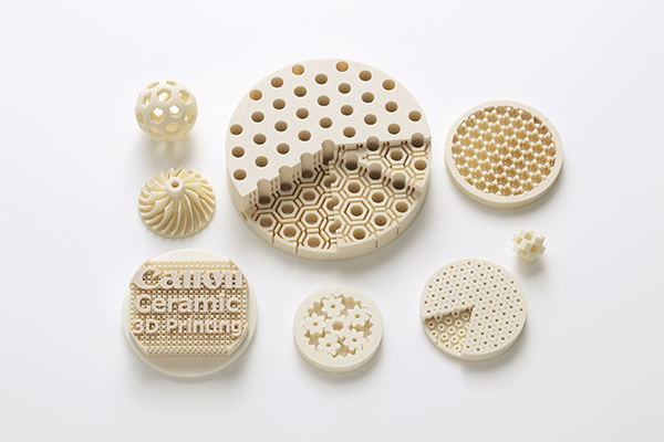 Ceramic parts created using the new technology