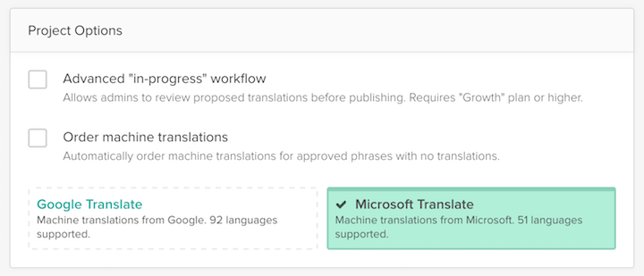 Microsoft Translate now available! 1