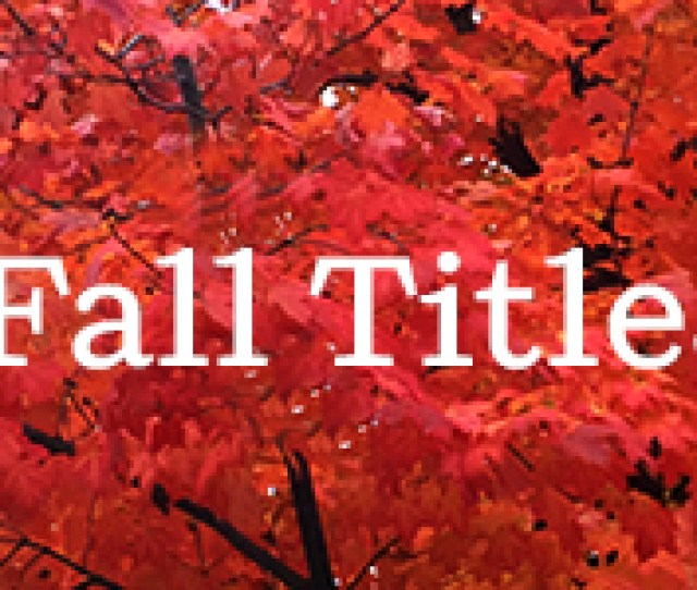 The Arrival Of Fall Is Accompanied By An Impressive Lineup Of Books Across Our Penguin Random House Imprints The Focus Of This First Installment Of Our
