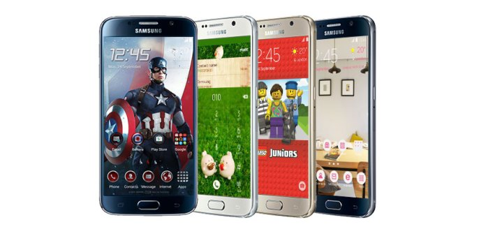 Introducing Themes for the Galaxy S6