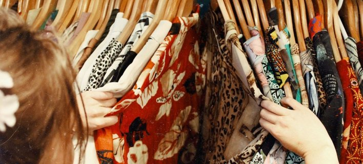 Buying second-hand clothes helps reduce waste and keeps clothing out of landfills.