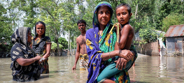Las inundaciones aumentan en todo el mundo debido al cambio climático