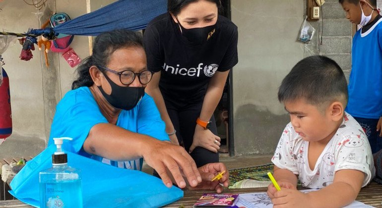 First Person: COVID education is child's play for Thai UN volunteer