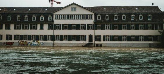 Las inundaciones han afectado a ciudades de toda Europa, incluida Zúrich (Suiza).