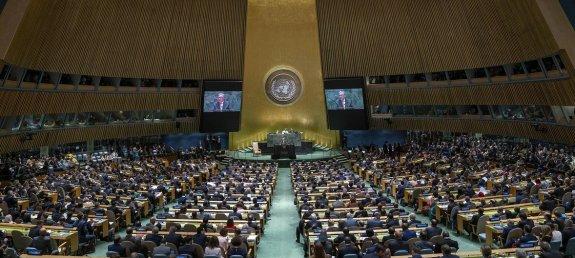 Pandemia leva ONU à primeira Assembleia Geral virtual com líderes  internacionais | ONU News