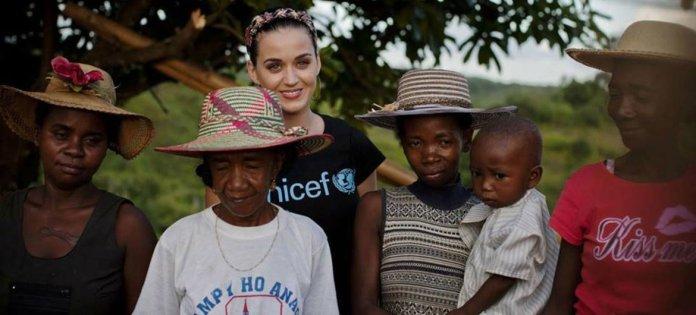 UNICEF nombra a Katy Perry embajadora de Buena Voluntad | Noticias ONU