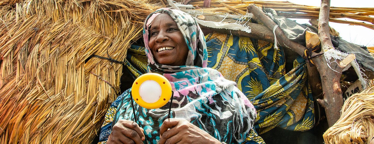 Shining a light on sustainable power: how clean energy is helping to improve camps for displaced people