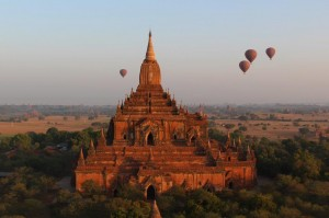Ballooning over Bagan Sunrise (34)